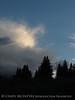 Cloud and crescent moon, Little Molas Lake, CO (1)