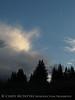 Cloud and crescent moon, Little Molas Lake, CO (2)