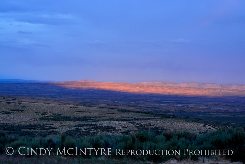 Sunset, Lookout Mt, Sand Wash Basin CO (4)