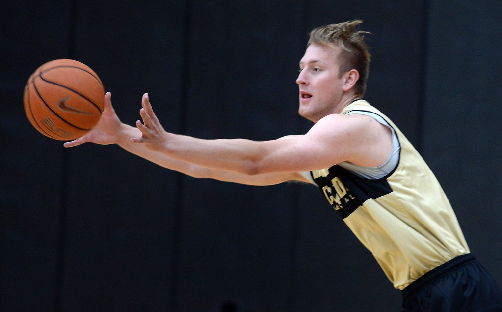 . BOULDER, CO: University of Colorado\'s Alex Strating  during the first practice for the CU men\'s team on October 2, 2018. ((Photo by Cliff Grassmick/Staff Photographer)
