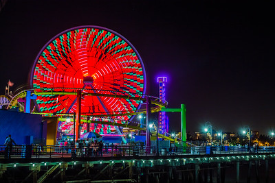 Ferris Wheel at the Pier