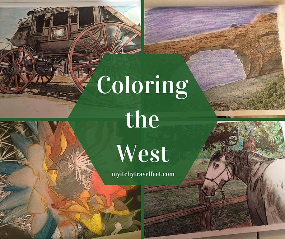 Coloring the West giveaway