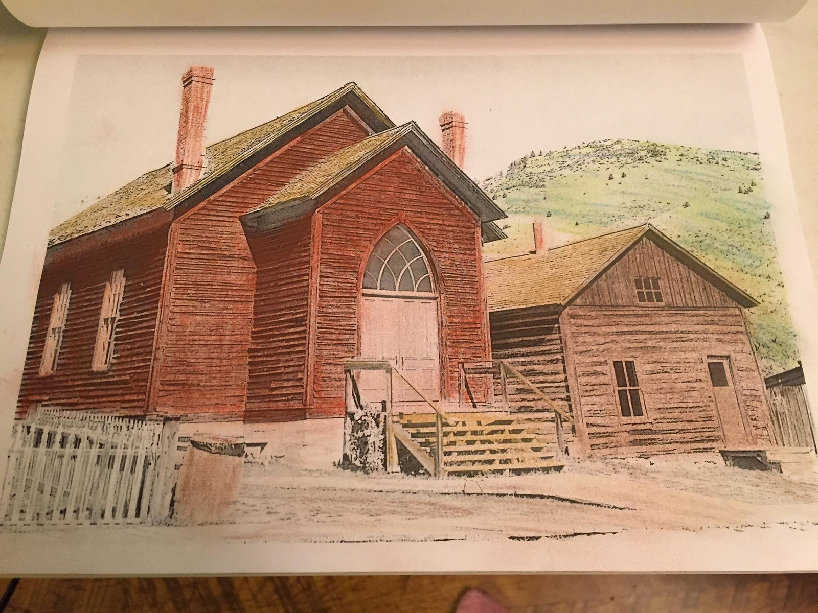 Bannack Ghost Town is one of the downloadabel pages in the Montana Coloring Pages collection.