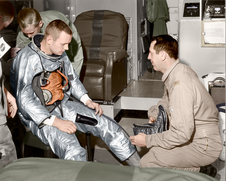 Neil Armstrong Prepares for flight of X-15