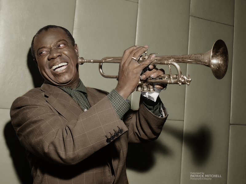 Louis Armstrong (1955)