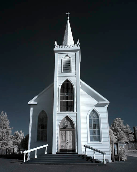 St. Theresa's Church, Bodega, CA Infrared