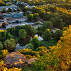 Hamden Connecticut USA taken from East Rock