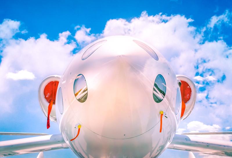 Happy plane