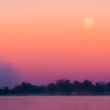 Moonset, Winona Lake