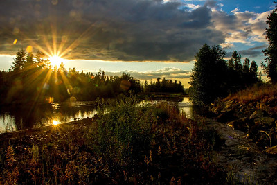 Puyallup River, Orting, WA