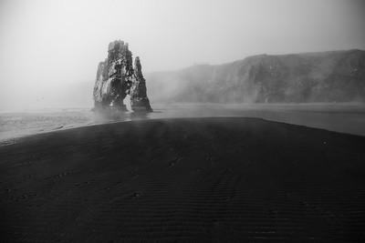 Hvitserkur in Fog