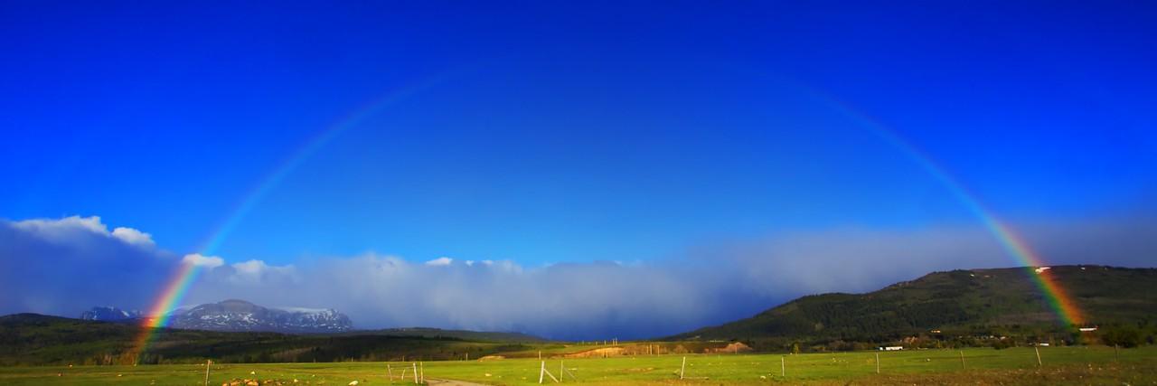 Full Rainbow Panorama