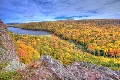 Porcupine Mountains Autumn 2