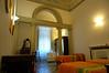 Our room, in a convent at Casa Santo Nome di Gesu