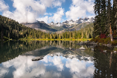 Pete Lake, Alpine Lakes Wilderness, WA