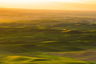 Golden Hour from Steptoe Butte in the Palouse