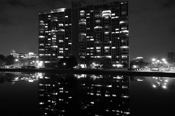The Hague Towers @ Night