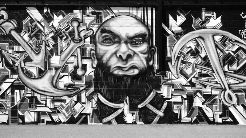Black Beard Mural