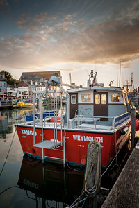 Weymouth Harbour Boats (2 of 3)