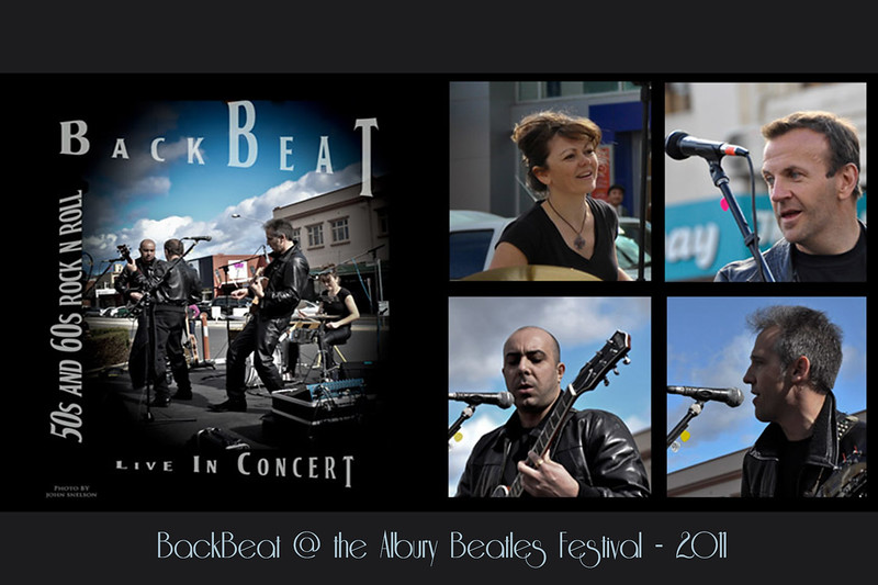 45BackBeat CD Cover Photos by John Snelson
