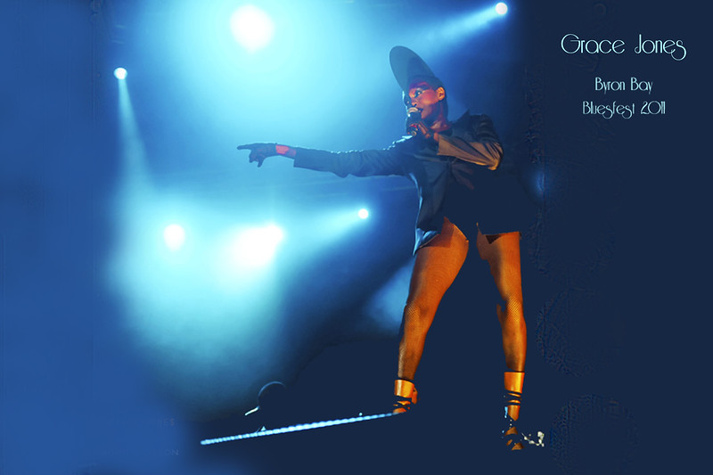 21Grace Jones - Photo by John Snelson