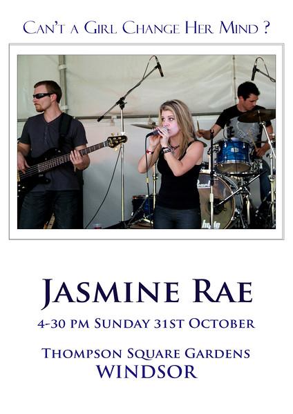 Jasmine Rae Poster