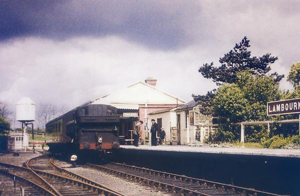 4609 Lambourn (branch from Newbury) 28th April 1959 Collett 5700 class