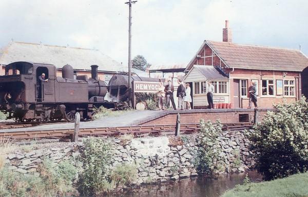 1442 Hemyock 23rd August 1963 Collett 1400 class