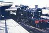 4566 the St Ives platform at St Erth Churchward 4500 class