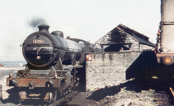61794 Loch Oich Mallaig shed 9th May 1959 Gresley K2