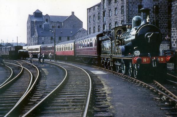 49 Gordon Highlander Aberdeen Waterloo goods SLS+RCTS Scottish Rail Tour 13th June 1960 LNER D40