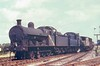 49361 last of class in service unknown location with a Ivatt or BR Std 2-6-0 Bowen-Cooke G2A