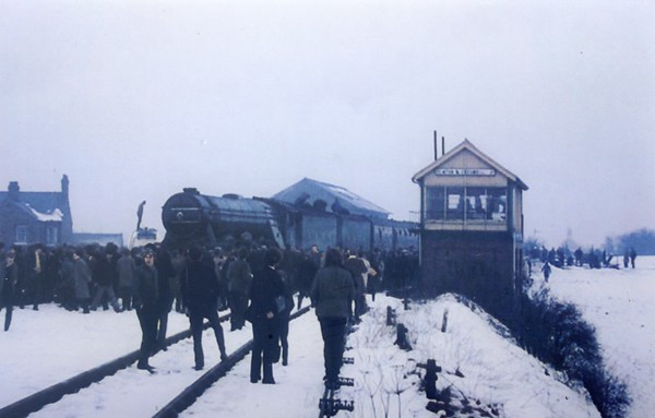 4472 Flying Scotsman Elmton and Cresswell S B  Flying Scotsman Enterprises No 1 Mystery Tour 22nd February 1969