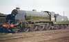 30805 Sir Constantine ex works at Eastleigh July 1957 Urie King Arthur