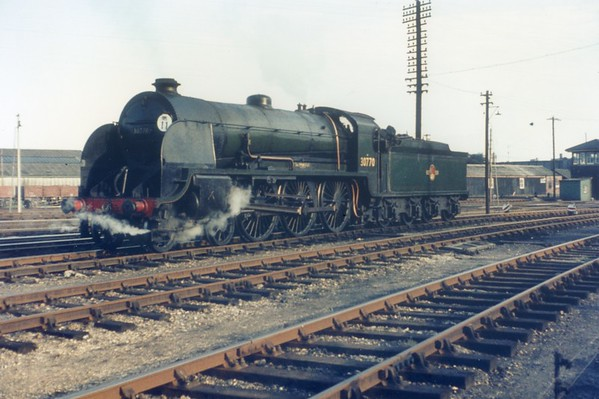 30770 Sir Prianius Eastleigh 2nd Seotember 1962 Urie King Arthur0770