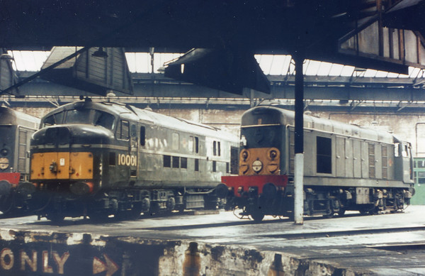 10001 Willesden shed 12th July 1964