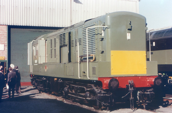 Hawk (former N B L  10800 was bought by Brush Traction and rebuilt for experiments in a c  power transmission)