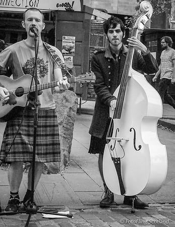 Street Musicians in Edinburgh