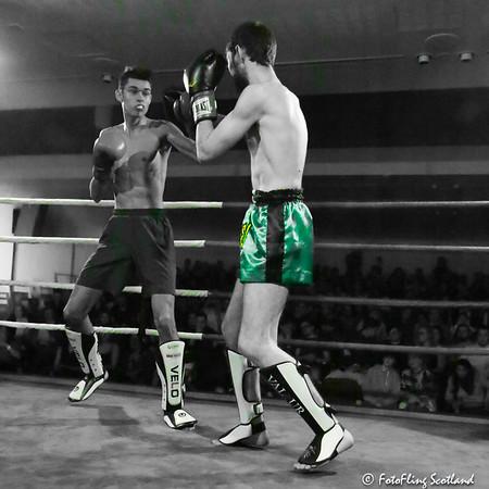 Fight NIght:  Samuel Horsch (GU) v Mark Perrie  (Stirling)