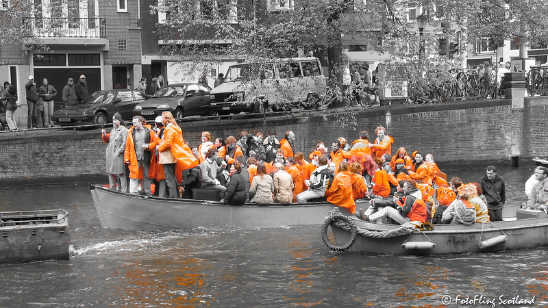 Queen's Day, Amsterdam 2002