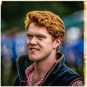 Highland Games Spectator #birnam #perthshire #ginger #highlandgames