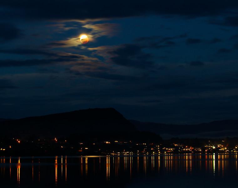 lunar Eclipse over Wanaka