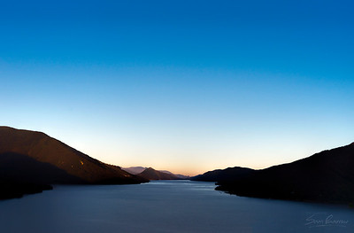 Marlborough Sounds Nightfall