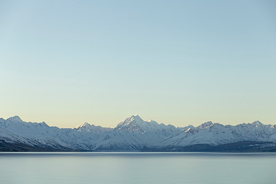 Evening on Lake Pukaki