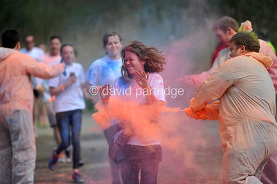 Weldmar Hospicecare Colour Run 2016, WEYMOUTH, ENGLAND