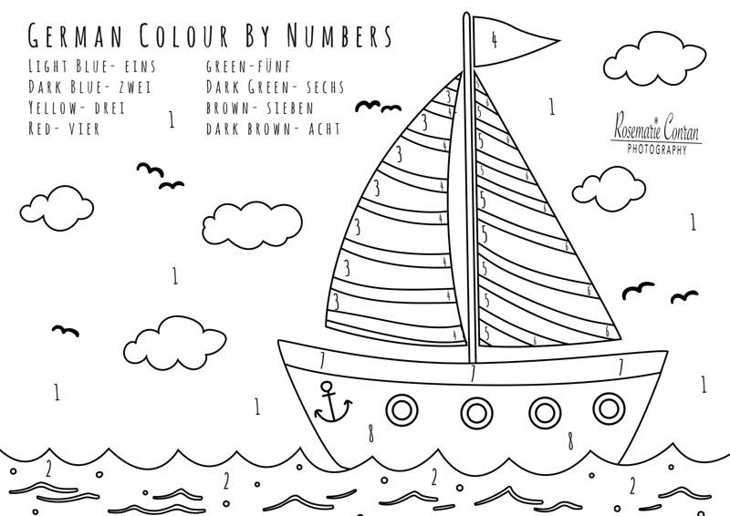 Welsh 3 [Colour By Numbers]
