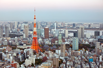 Nr. 15: Tokyo Tower @ Dawn, 2010