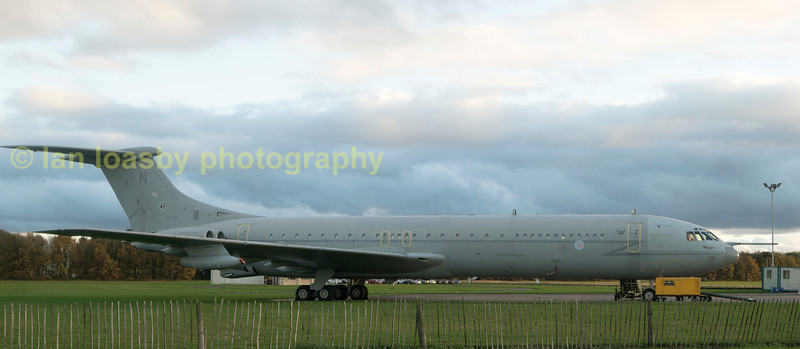 retired RAF Vickers VC10