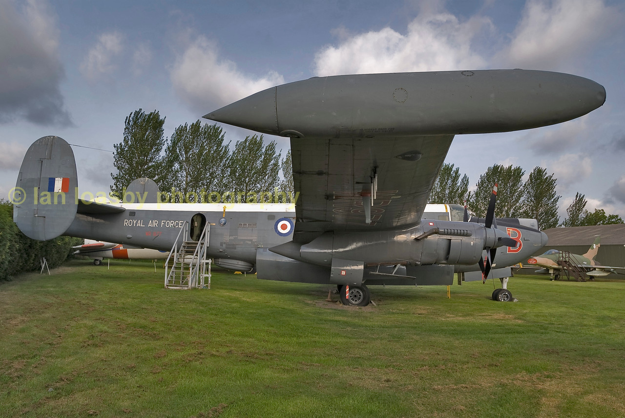 Avro Shackleton maritime patrol aircraft, now on static display