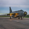 XR728 returns to dispersal after a successful intercept